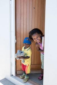 Bonding between the children builds confidence.