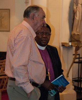 Boet Dommisse and Retired Archbishop Ndungane