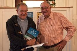 Chaplain Bob Commins and Boet Dommisse